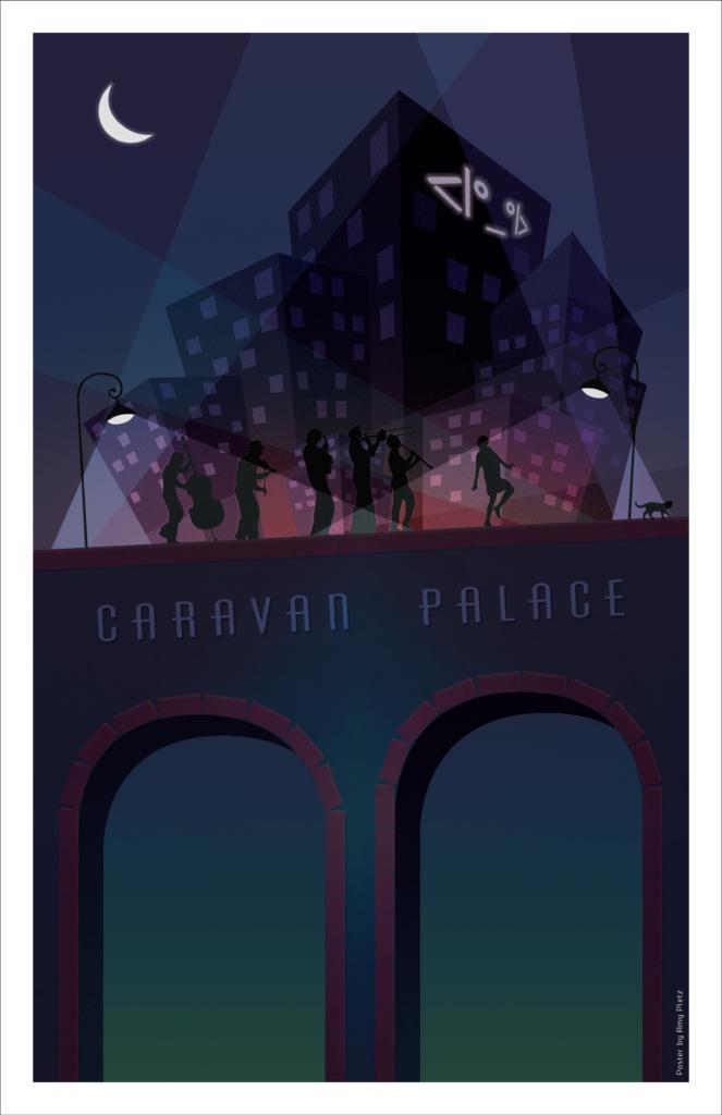 Caravan Palace 2017 Poster